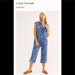 One teaspoon camp overalls. Nwot. Retail 228